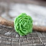 Green Peony Flower Antique..
